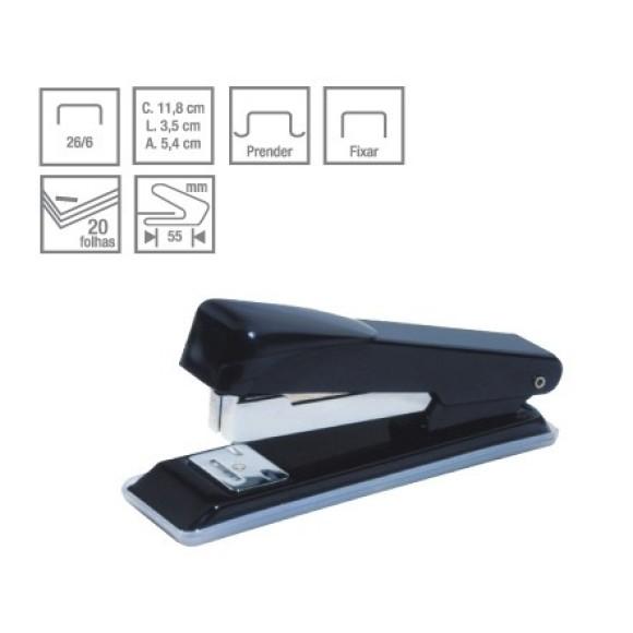Grampeador Pequeno 26/6 20fls Plus Line - CIS