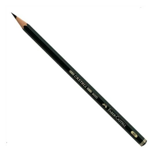 Lápis Grafite 9000 6B - Sextavado - Faber-Castell
