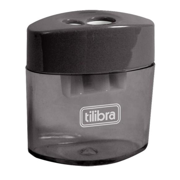 Apontador Com Depósito AP02 Tilibra - Preto