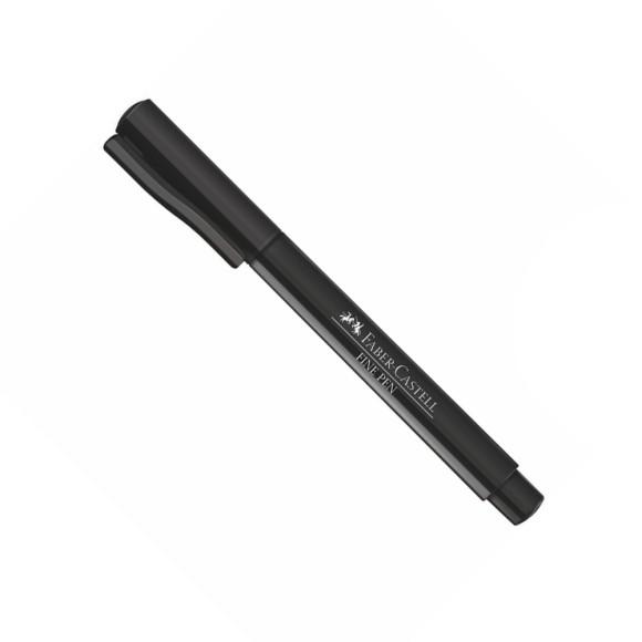Caneta Fine Pen Preta 0.4 - Faber-Castell
