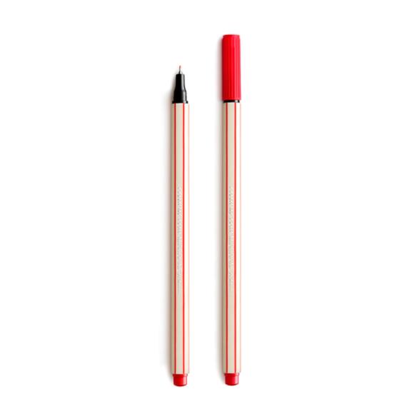 Caneta Microline 0.4 Vermelha - Compactor