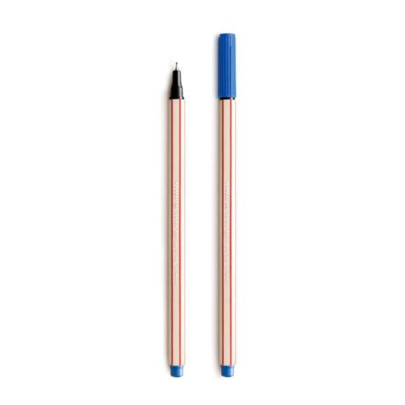 Caneta Microline 0.4 Azul Escuro - Compactor