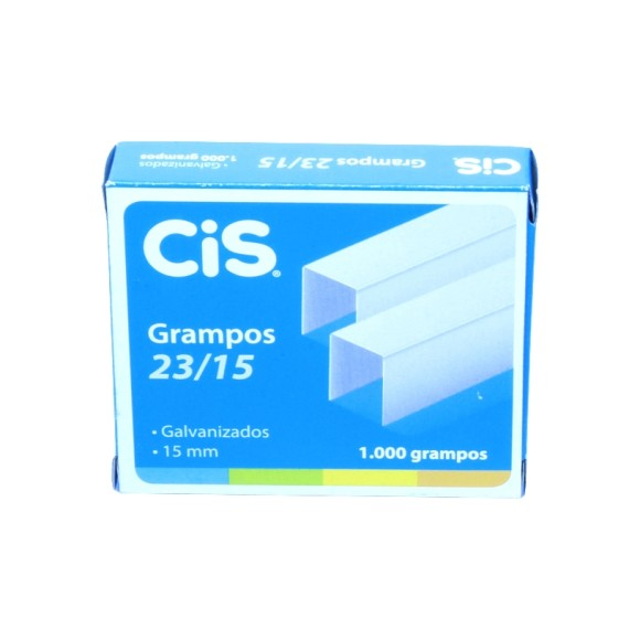 Grampos 23/15- 1000 Unidades - Cis