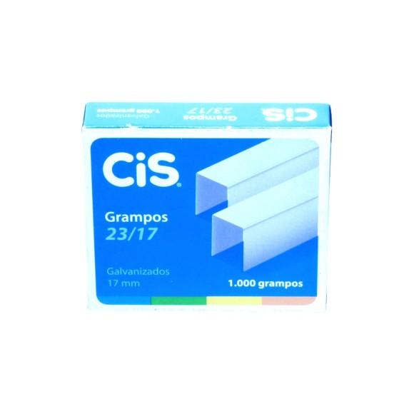 Grampos 23/17- 1000 Unidades - Cis