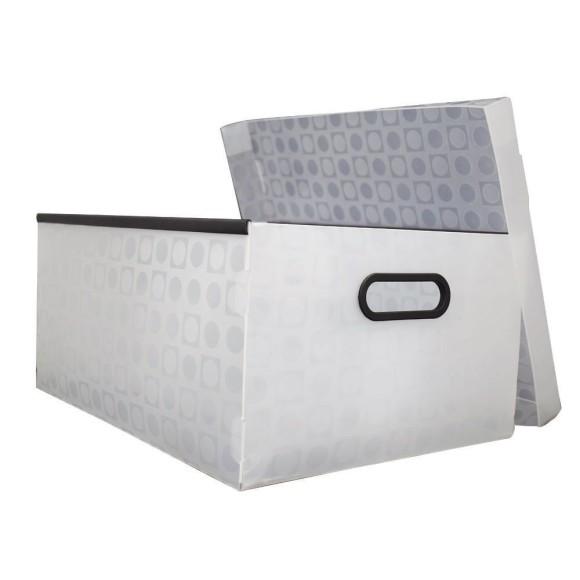 Caixa Organizadora Grande - Cristal - DAC