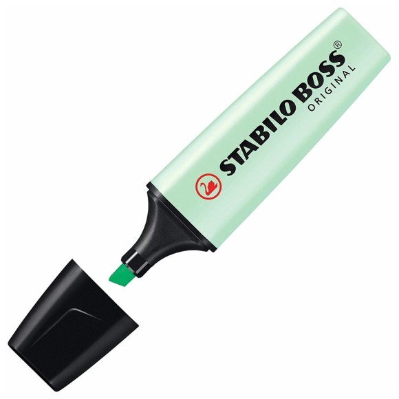 Marca-Texto Stabilo Boss Original - Verde Pastel - Stabilo