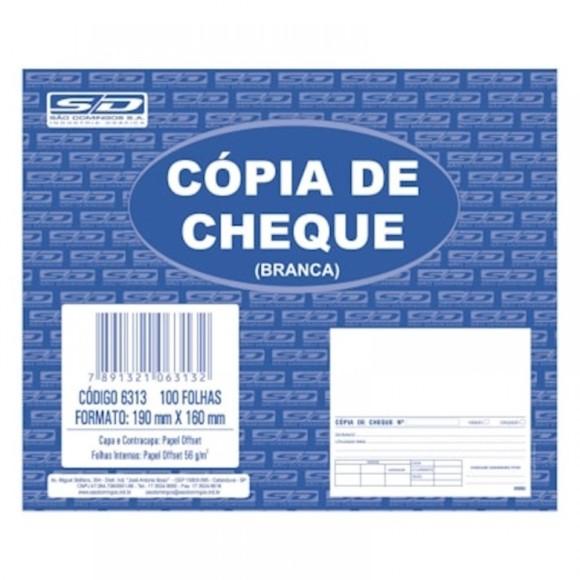 Pacote c/10 Unidades - Cópia de Cheque Branca - São Domingos