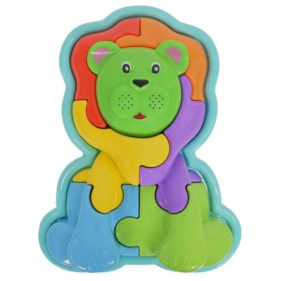 Animal Puzzle 3D - Leão - Calesita