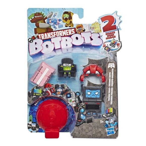 Mini Figura Surpresa Botbots Transformers - Time High-Tech - Hasbro