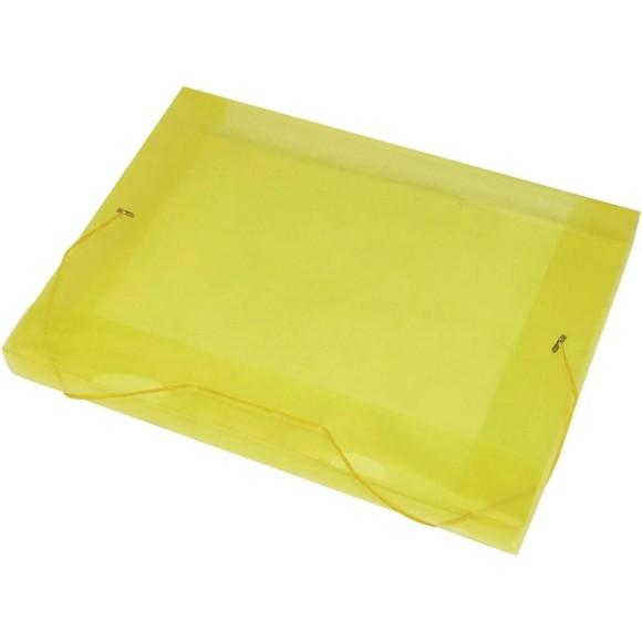 Pasta Plástica 20mm Ofício Com Aba e Elástico - ACP