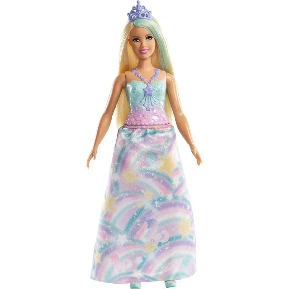 Boneca Barbie Princesa Dreamtopia - Sereia, Arco-Íris, Unicórnio - Mattel