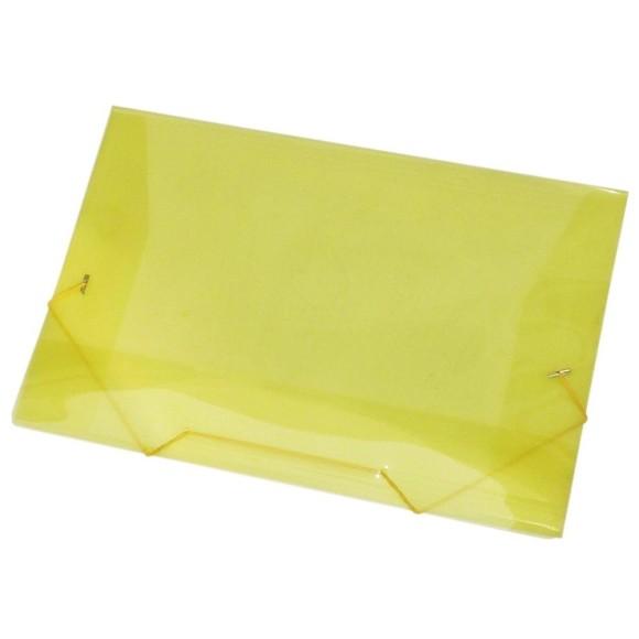 Pasta Plástica Fina Ofício Com Aba e Elástico - ACP