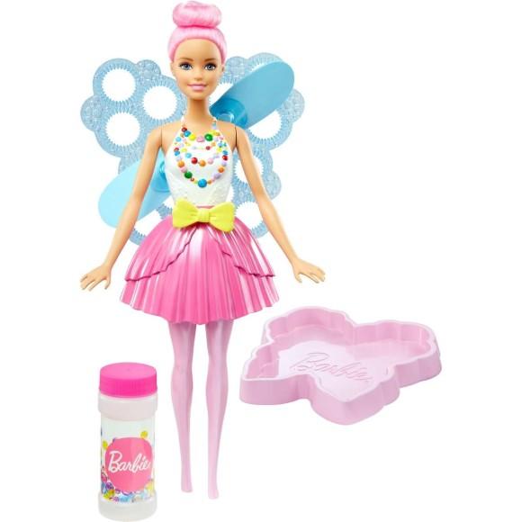 Boneca Barbie Fada Bolhas Mágicas - Dreamtopia - Mattel