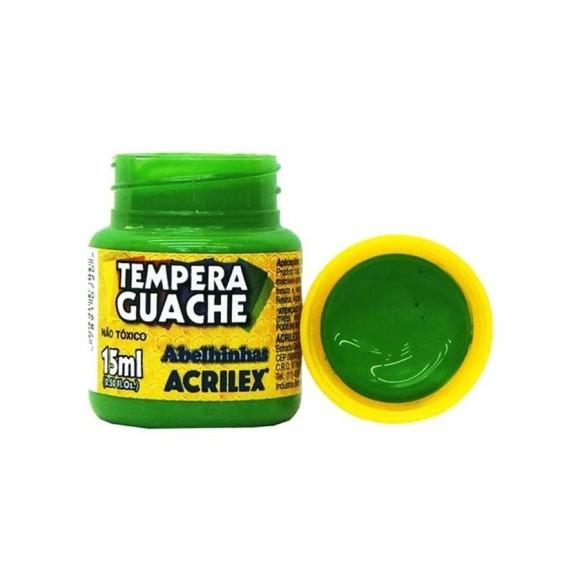 Tinta Guache Acrilex Verde Folha - 15ml