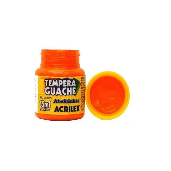 Tinta Guache Acrilex Laranja - 15ml