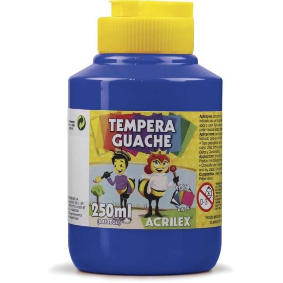 Tinta Guache 250ml Azul Turquesa - Acrilex