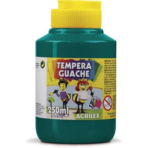 Tinta Guache 250ml Verde Bandeira - Acrilex