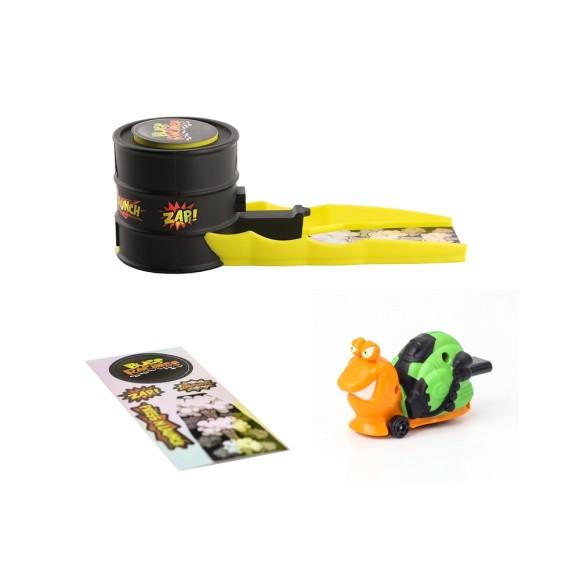Kit Lançador Bugs Racing - Sluggy - DTC Brinquedos