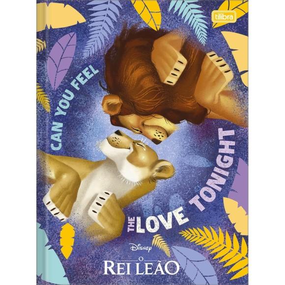 Caderno Brochurão Capa Dura O Rei Leão - 80 folhas - Tilibra