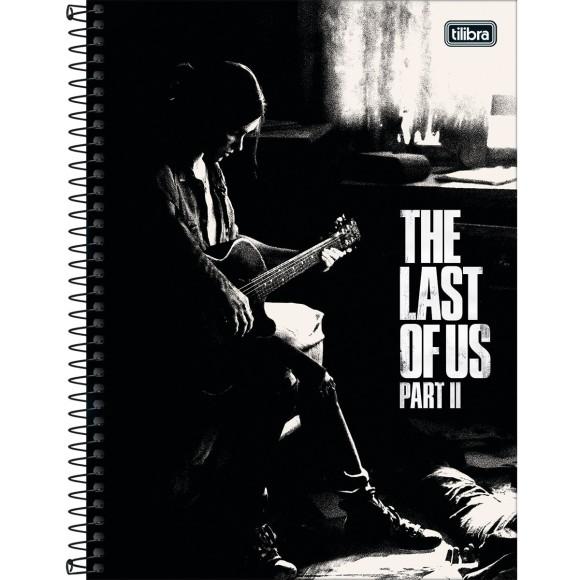 Caderno 1 Matéria Universitário Espiral The Last Of Us Part 2 - Tilibra