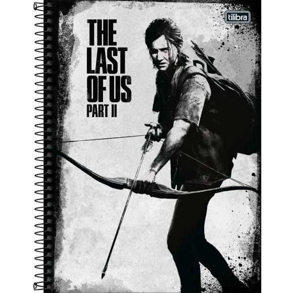 Caderno 1 Matéria Universitário Espiral The Last Of Us Part 2 - Tilibra