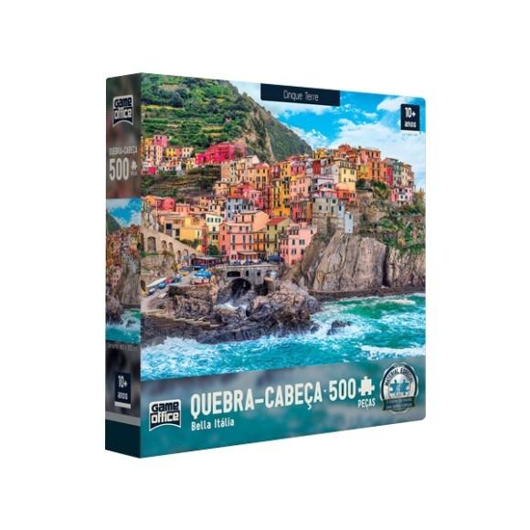 Quebra-cabeça 500 Peças Bella Itália - Cinque Terre - Game Office