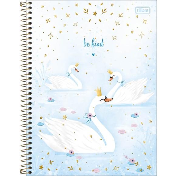 Caderno 10 Matérias Universitário Espiral Royal Cisne - Tilibra