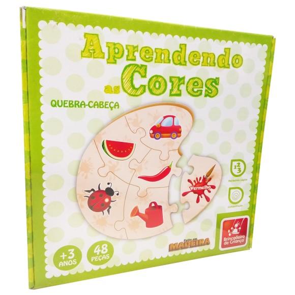 Aprendendo as Cores - 48 Peças - Brincadeira de Criança