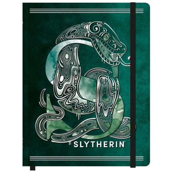Caderneta de Anotações Sem Pauta Pequena - Harry Potter - Sonserina / Slytherin - Jandaia