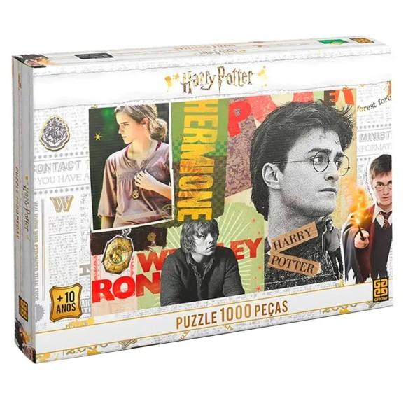 Quebra-cabeça 1000 peças Harry Potter - Grow