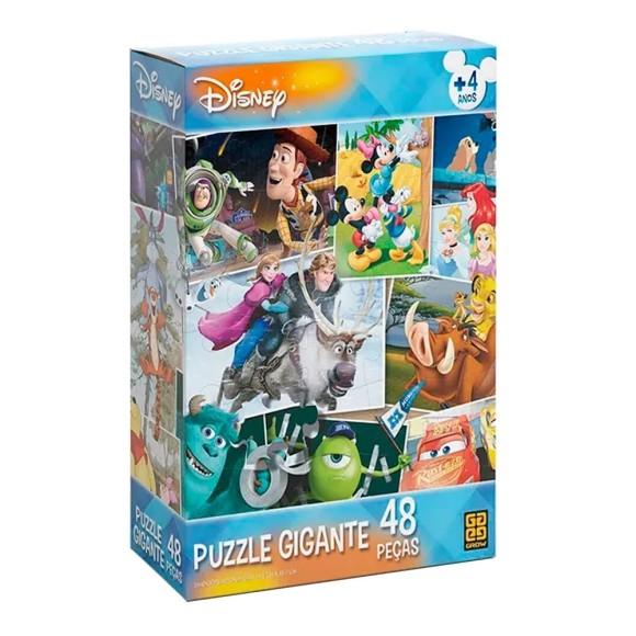 Quebra-cabeça Gigante 48 peças Disney - Grow