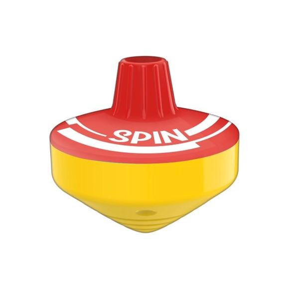 Apontador 1 Furo com Depósito Spin - Vermelho - Tilibra