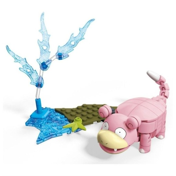 Pokemon - Brinquedo de Montar - Slowpoke - Mega Construx