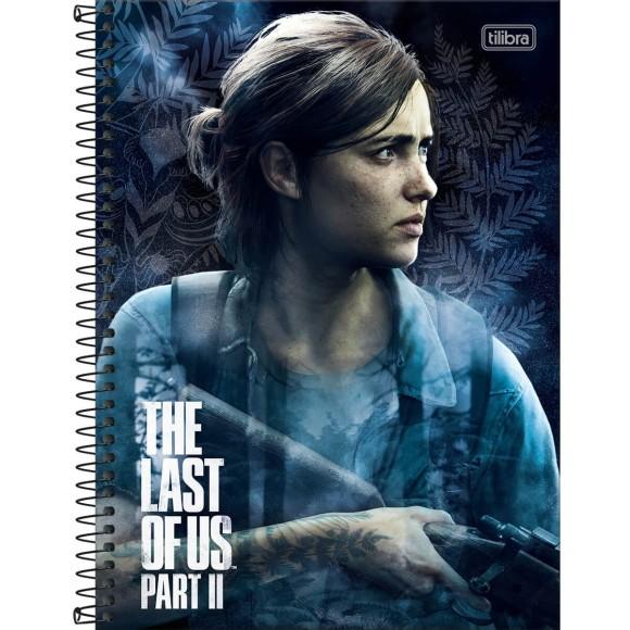 Caderno 1 Matéria Universitário Espiral The Last Of Us Part II - Tilibra