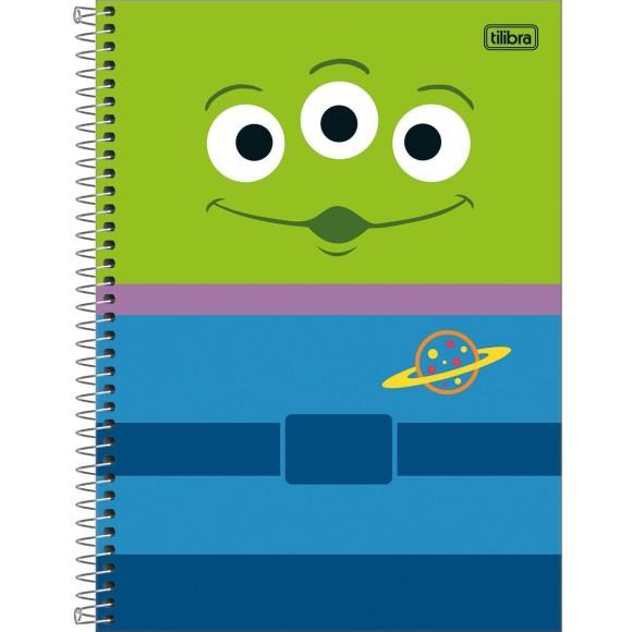 Caderno 1 Matéria Universitário Espiral Toy Story Light - Tilibra