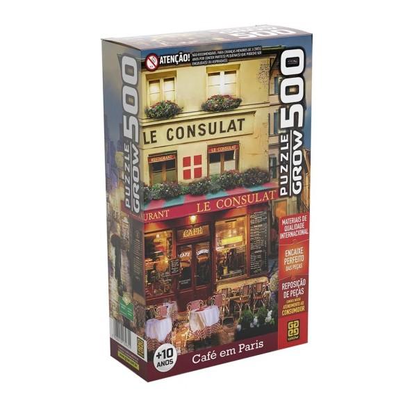 Quebra-cabeça 500 peças Café em Paris - Grow