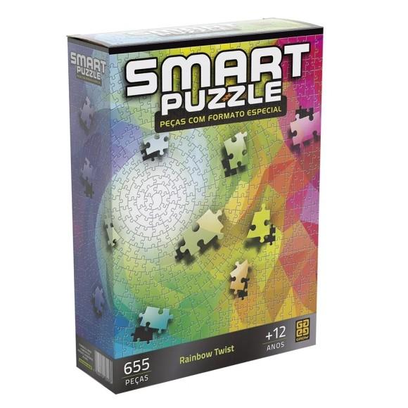 Quebra-cabeça 655 peças Smart Puzzle Rainbow Twist - Grow