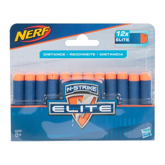 Refil Nerf Elite 12 Dardos - Hasbro