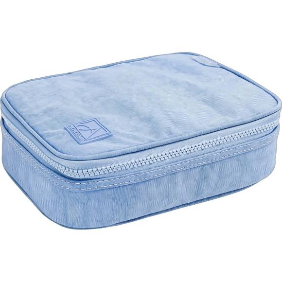 Estojo Box Académie Azul Claro - Tilibra