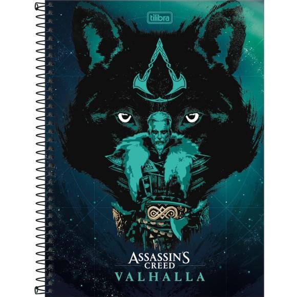 Caderno 10 Matérias Universitário Espiral Assassin's Creed - Tilibra