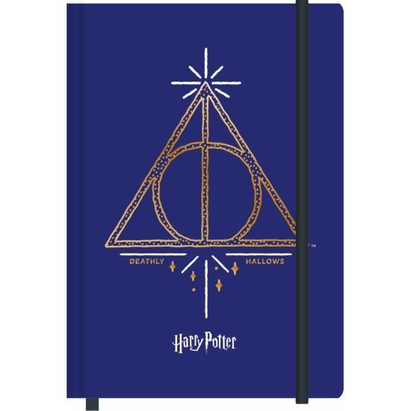 Caderneta de Anotações M - 80 Folhas - Relíquias da Morte - Harry Potter
