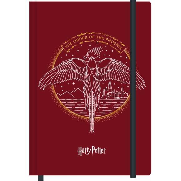 Caderneta de Anotações M - 80 Folhas - Ordem da Fênix - Harry Potter