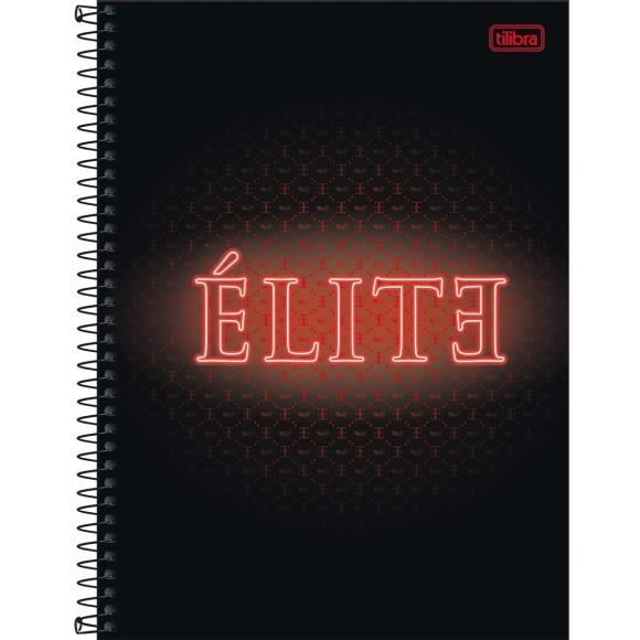 Caderno 10 Matérias Universitário Espiral Elite - Tilibra