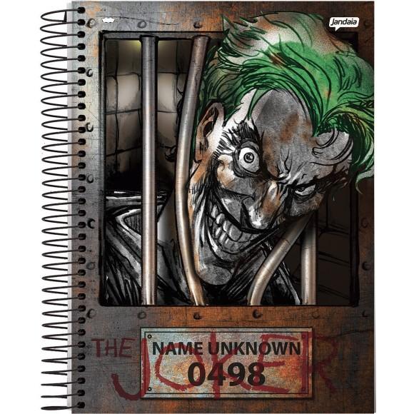 Caderno 10 Matérias Universitário Espiral Coringa / Joker - Jandaia