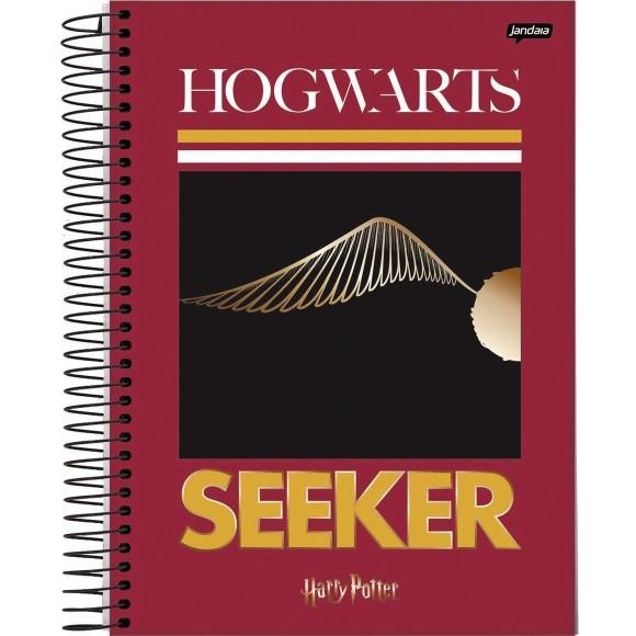 Caderno 10 Matérias Universitário Espiral Harry Potter - Jandaia