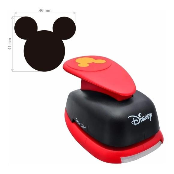 Furador Mickey Extra Gigante Premium - Papel e E.V.A. - Toke e Crie