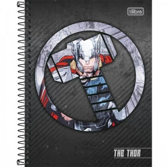 Caderno 10 Matérias Colegial Espiral Thor - Tilibra