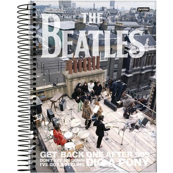 Caderno 1 Matéria Universitário Espiral The Beatles - Jandaia