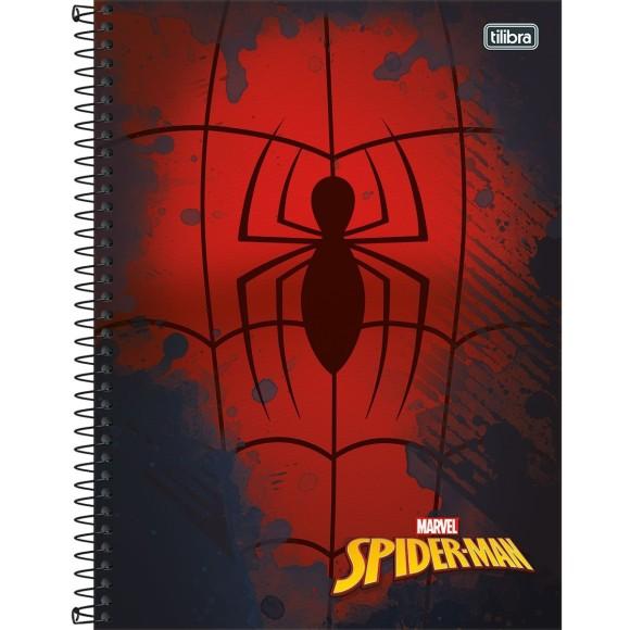 Caderno 1 Matéria Universitário Espiral Homem Aranha (Spider-Man) - Tilibra
