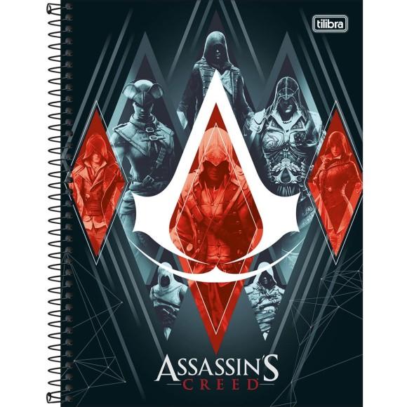 Caderno Universitário Espiral Assassin's Creed - 10 Matérias - Tilibra